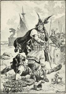 viking sketch battle before mead