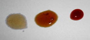 burnt honey comparison