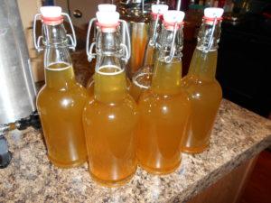 mango serrano pepper mead finished bottling