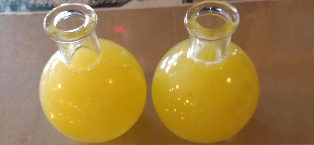 tej in a berele glass