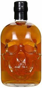 Pirate's blood skull bottle