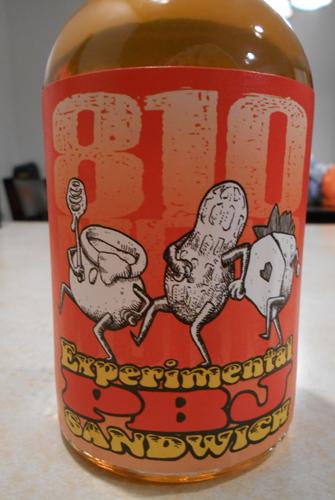 PBJ Sandwhich mead bottle