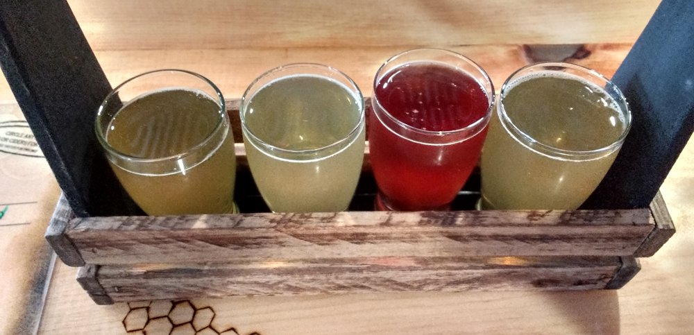 Bee Well mead flight